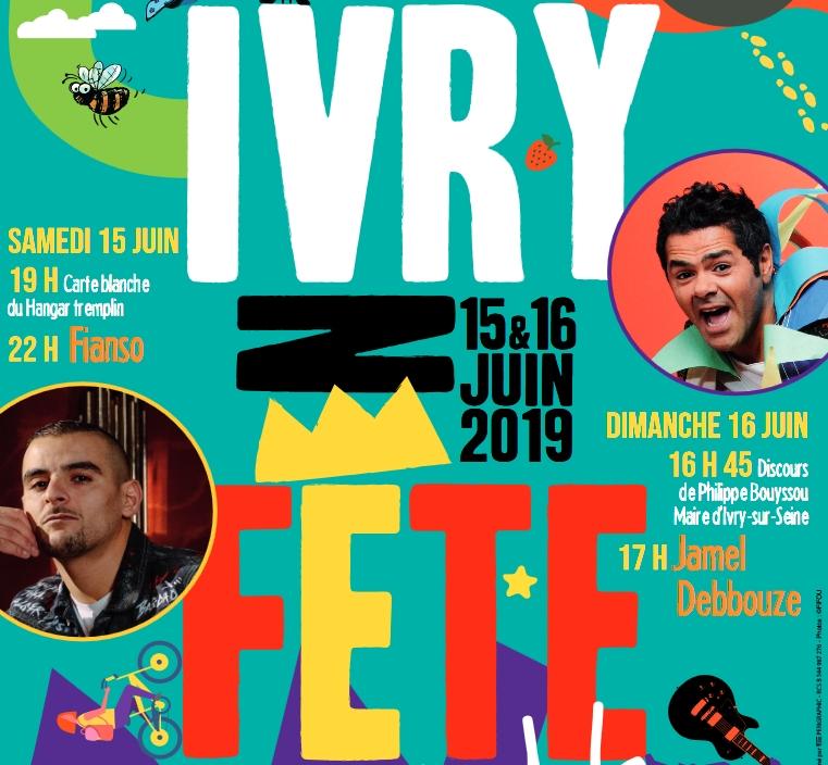 Venez nous retrouver à Ivry en Fête 2019 !